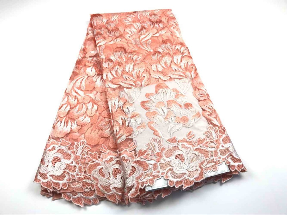 2017 High quality nigerian french lace african lace fabric for party dress. 9 color lace free shipping  FC16-WFE012017 High quality nigerian french lace african lace fabric for party dress. 9 color lace free shipping  FC16-WFE01