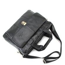 Genuine Leather Bag Casual Men Handbags Cowhide Men Crossbody Bag Men's Travel Bags Laptop Briefcase Bag for Man