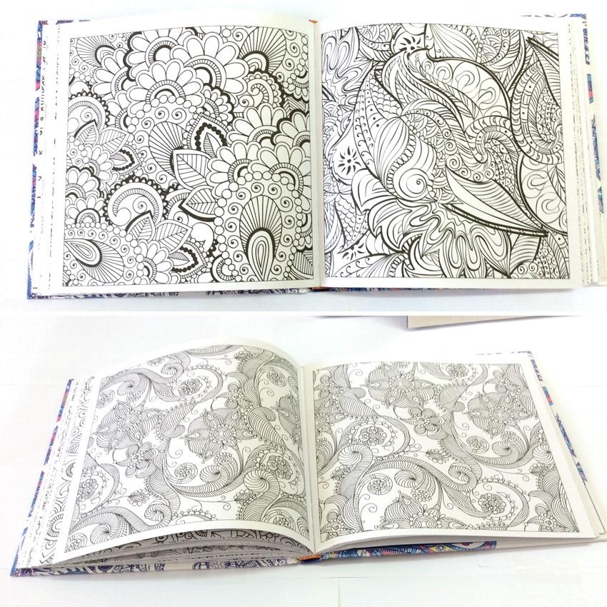 128 páginas Mandalas libro para colorear para adultos comic libros ...