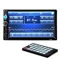 2 Din Car Stereo Radio Player 7 polegada HD In Dash Touch Screen Player Do Carro Do Bluetooth da Sustentação FM/MP5/USB/AUX Carro Eletrônica