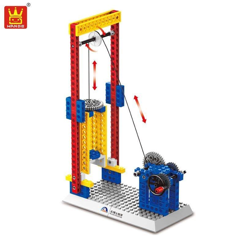 Wange 4 Styles Mechanical Engineering Building Blocks 3in1