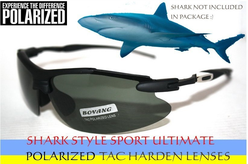 Limite   Tac Reis De Luxo Esporte de Motorista Reforçada Polarizada Golfe  Polaroid Polarizada Ocean Shark Uv 400 óculos de Sol dos homens 9f6164cd2c