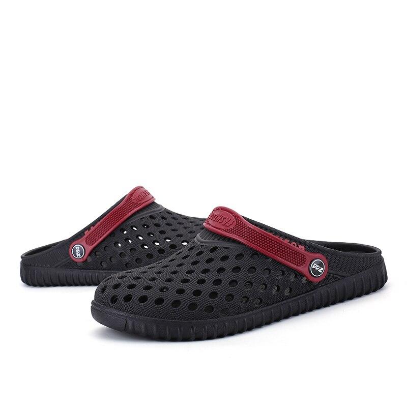 b2e3ad4a35541 ... Aleader EVA Crocus Clogs Men Slip On Garden Shoes Lightweight Beach  Sandals For Men Casual Water ...