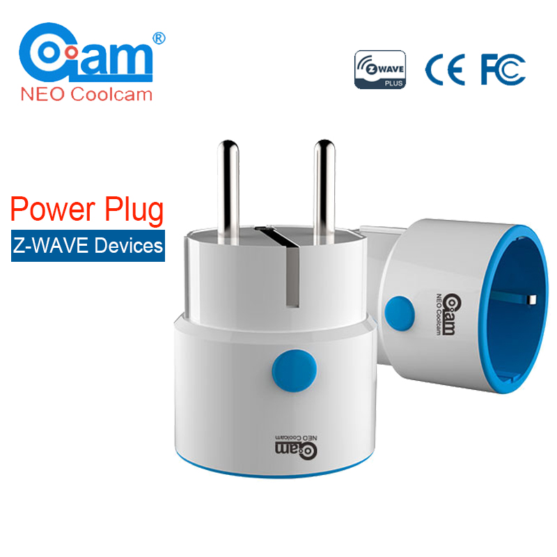 NEO COOLCAM NAS-WR01ZE Z-Smart wave Power Plug Socket Z vague Domotique Système D'alarme Domotique EU une Prise 868.4 MHz