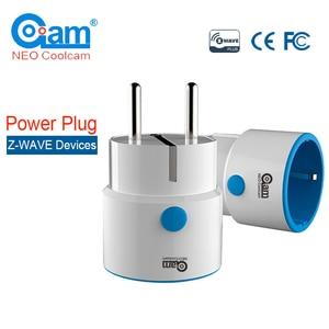 NEO COOLCAM NAS-WR01ZE Z-wave Smart Power Plug Socket Z wave Home Automation Alarm System Home Automation Outlet EU 868.4MHz