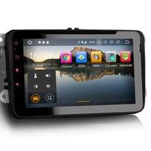 """Erisin ES7825V """" Android 8,0 Восьмиядерный 4G ram автомобильный DVD gps видеорегистратор с радио DAB+ DVD для VW passat"""