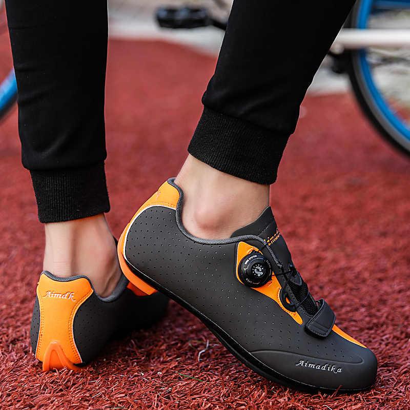 Buty do jazdy na rowerze drogowym mężczyźni rower szosowy wyścigowy buty samohamowność na szczycie głośniki rowerowe sportowe ultralekkie profesjonalne buty do jazdy na rowerze
