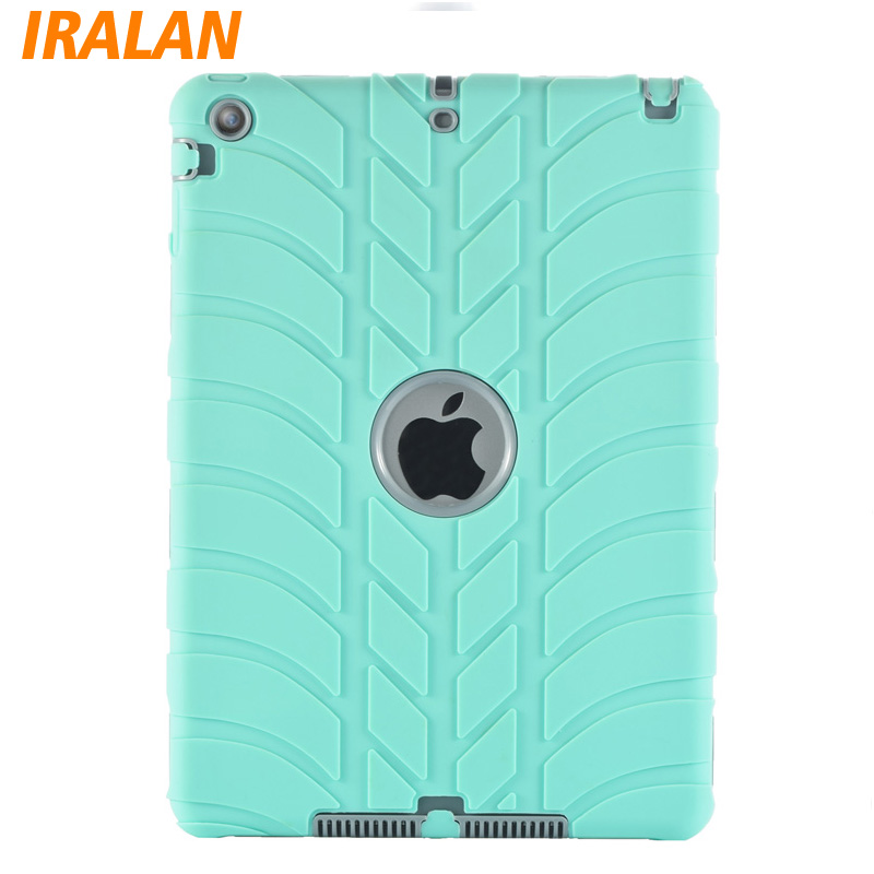 Hybrid Armor Case For iPad 2 3 4 Kids Safe Shockproof Heavy Duty Silicone Hard drop resistance ipad tablet accessories