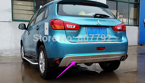 Protector paragolpes trasero -font-b-SUV-b-font-CAR-TOP-Quality-Stainless-steel-Front-Rear-Bumper-Protector-Guard