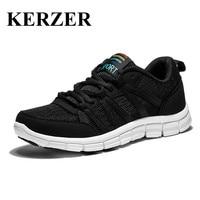 Hot Mens Running Sneakers Spring/Summer Walking Sport Shoes Black/Blue Mens Trainers Breathable Sneakers Men Luxury Trainers