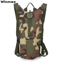 3L Water Bag Sports Bottle Pouch Rucksack Tactical Backpack Hydration Military Backpack Camping Pack Bicycle Mochila