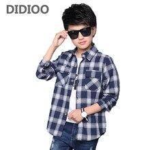 13ed53e1f1a Рубашка В Клетку Для Подростков – Купить Рубашка В Клетку Для Подростков  недорого из Китая на AliExpress