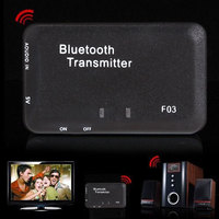New Arrival 3 5mm Wireless Bluetooth A2DP Stereo HiFi Audio Music Dongle Transmitter Free Shipping