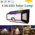3 modalità Impermeabile 118/66/90 Led Luce Solare Esterna Giardino Luce PIR Sensore di Movimento di Sicurezza di Emergenza Da Parete lampada Ad energia solare