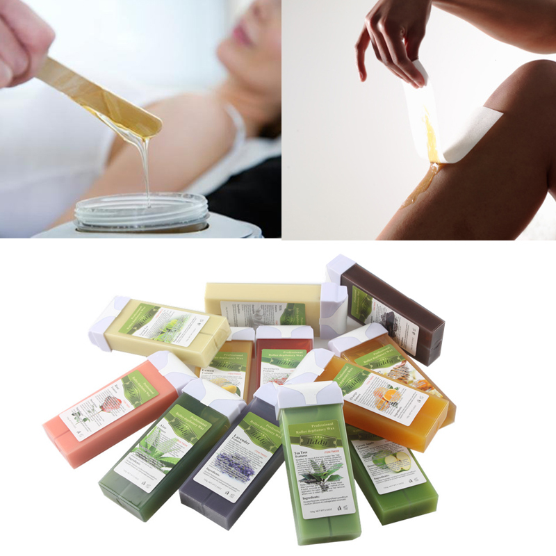 1 Pcs Hair Removal Wax Strawberry Chocolate Aloe Nutritious Wax Skin Care font b Shaving b