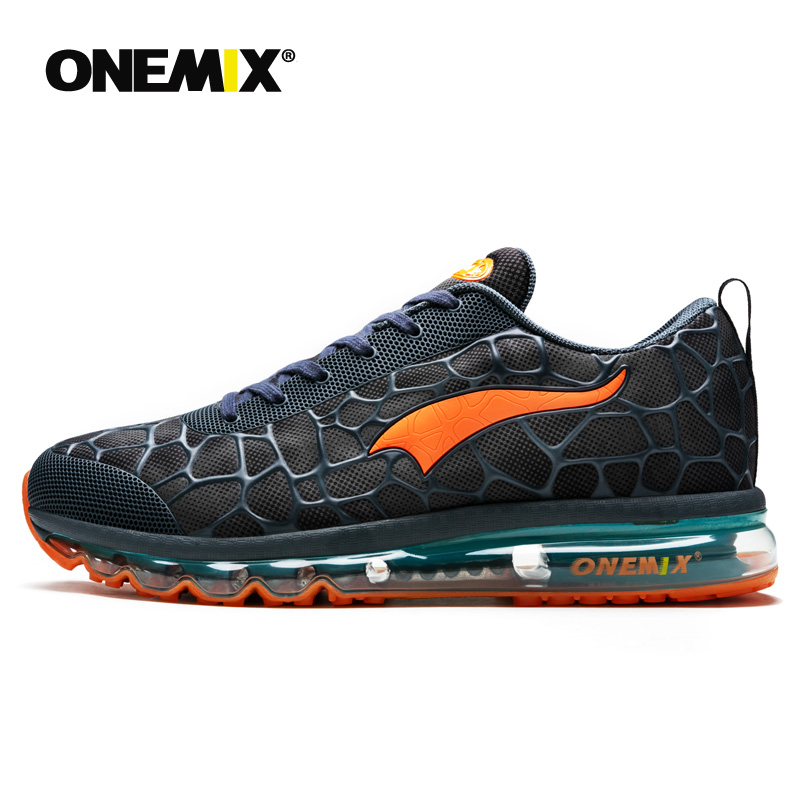 Onemix Running Shoes For Men Air Cushion Breathable Outdoor Sport Lightweight Walking Shoes Jogging Sneakers Man