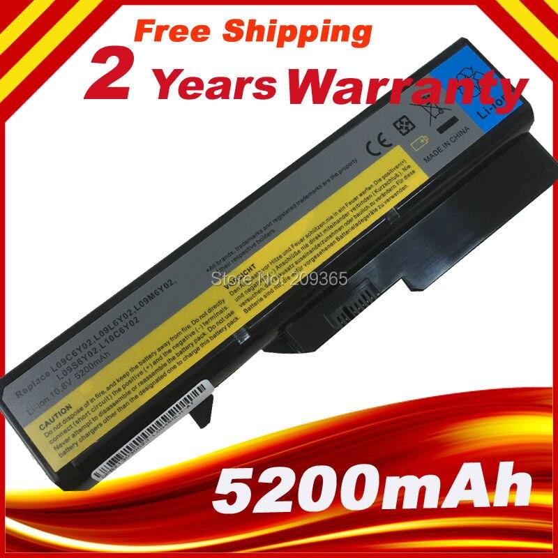 NEW Laptop battery for LENOVO G570 G575 G460 G560 G565 V470 V570 B470 L09S6Y02
