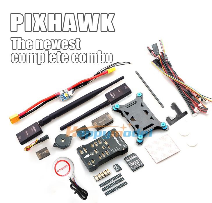 Pixhawk 2.4.6 PX4 ARM Flight Controller  6M/6H/M8N GPS/LED&USB Expansion Module&SBUS/PPM Module&I2C/433Mhz DTM for Multicopter original naza gps for naza m v2 flight controller with antenna stand holder free shipping