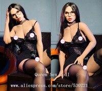 Новый 165 см Одежда высшего качества силикона реалистичной куклы секс, настоящее взрослых Куклы, скучно Размеры сексуальная кукла большая за