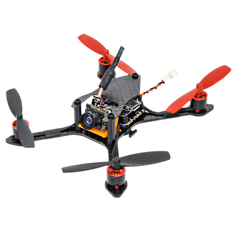 In Stock Bat-100 100mm Mini FPV Racing Drone PNP 48CH 600TVL VTX RC Multicopter FPV Race Kids Toys Gifts For FPV Racer RC Models mini drone rc helicopter quadrocopter headless model drons remote control toys for kids dron copter vs jjrc h36 rc drone hobbies