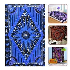 140*200cm tapiz colgante de pared sol Luna planeta decoración playa Coverlet cortina rectangular Tapestrys TB venta