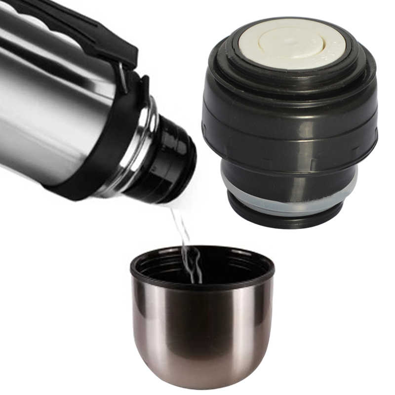 IVYSHION 1pc Outdoor Travel Cup Vacuum Flask Lid Drinkware Mug Outlet Flask Cover 4.5/5.2cm Stainless Thermoses Accessories