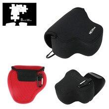 Neoprene túi đựng hình mềm mại Ốp lưng Panasonic FZ70 FZ72 FZ2000 FZ2500 FZ1000 Mark II Sony HX400V HX350 HX300 h400