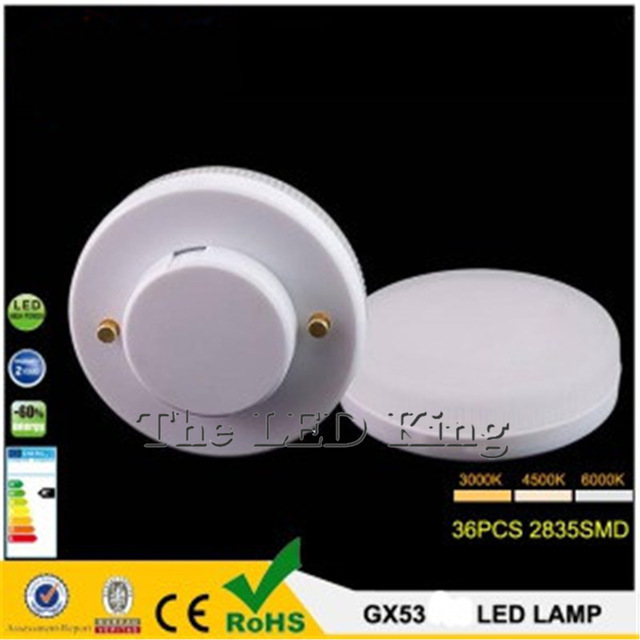 Light Cabinet Gx53-Lamp LED Cold-White 230V 220V Smd2835 9W 15W AC 12W 240V