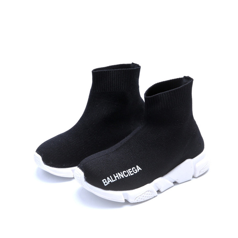Children Shoes For Kids Lightweight Mesh Breathable Socks Sneakers Girls Boys Anti-Slippery Shoes Fashion Kids Boys Shoes 3-14T