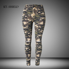 fashion camo skinny jeans woman camouflage print cut out knees slim jeans plus size pencil jean femme pantalones vaqueros mujer