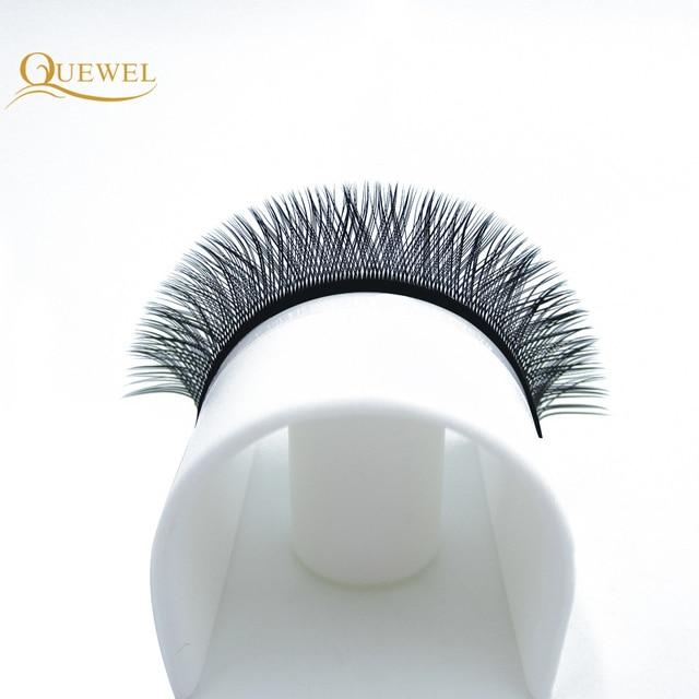 Y Shape Eyelashes Extensions Double Tip Lash Eyelash Cilios Y Natural Easily Grafting Y Style Volume Eye lashes Faux Mink Quewel 4