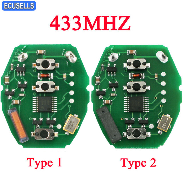 ews 3 buttons remote control circuit board 433mhz for bmw. Black Bedroom Furniture Sets. Home Design Ideas