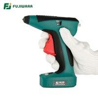 FUJIWARA высокое качество 3,6 V 1500 mAh Аккумуляторная Литиевая электрическая термоплавкая клеевая пушка