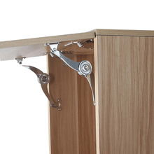 Hydraulic Randomly Stop Hinges Kitchen Cabinet Door Adjustable Polish Hinge Furniture Lift Up Flap Stay Support Hardware 2pcs furniture metal replacement lid support hinge stay silver tone furniture hinges for desks and lift lids a stop position