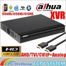 Dahua mutil languag XVR video recorder XVR4104HS XVR4108HS XVR4116HS 4ch 8ch 16ch 720P dvr Support HDCVI/ AHD/TVI/CVBS/IP Camera