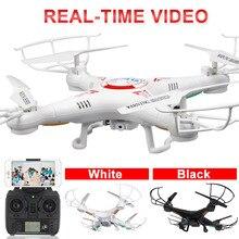 X5C-WIFI FPV RC Drone con 720 P HD de La Cámara 2.4G X5C Quadcopter Drones Profesional Helicóptero de Juguete de Control Remoto WIFI versión