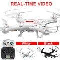 X5c-wifi fpv zangão com câmera 720 hd vídeo e foto wi-fi quadcopter controle remoto rc drones profissional vs syma x5sw