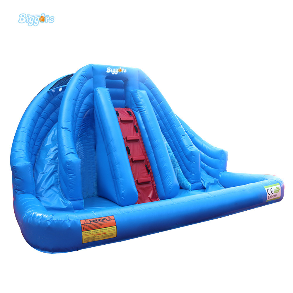 outdoor commercial Inflatable water slide with pool with blowers inflatable biggors combo slide and pool outdoor inflatable pool slide for kids playing