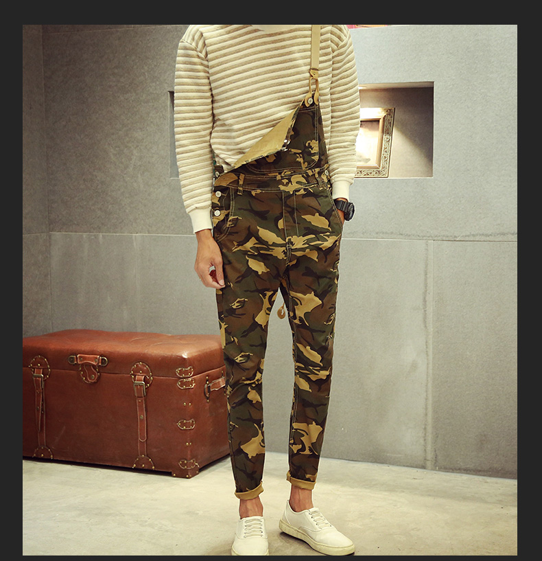 Desert Camouflage Overalls MIlitare Camo Streetwear Mens 2017 New Fashion Cargo Denim Bib Pants Free Shipping free shipping denim overalls men 2016 new brand fashion mens bib denim shorts bib jeans fast delivery size s m l xl xxl 3xl 4xl