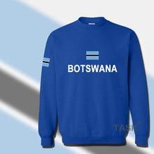 Republic of Botswana hoodie mens sweatshirt sweat suit hip hop streetwear tracksuit nation footballer sporting country flag BWA