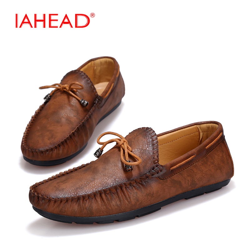 2017 Men Casual Shoes Summer Flats Fashion Slip On Driving Shoes Moccasins Leather Shoes High Quality Flats For Man 39-44 MQ505 summer causal shoes men loafers genuine leather moccasins men driving shoes high quality flats for man