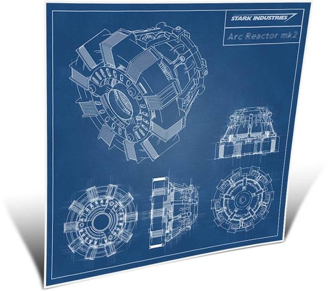 021 blueprint iron man arc reactor mk2 24 x 24 poster in painting 021 blueprint iron man arc reactor mk2 24 x 24 poster malvernweather Choice Image