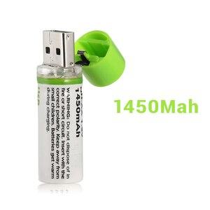 Image 5 - 1Pcs AA סוללה Nimh AA 1.2V 1450MAH סוללה נטענת NI MH USB AA 1450MAH