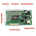 "VGA AV 50P TTL RGB Driver Controller Board Module Monitor Kit for Raspberry PI 3 4.3"" - 10.1"" IPS TFT LCD Matrix Display Panel"