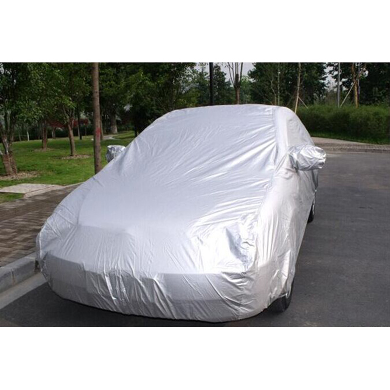 Hot Car SUV Indoor Outdoor Full Car Cover Sun UV Snow Dust Rain Resistant Protection JLD image