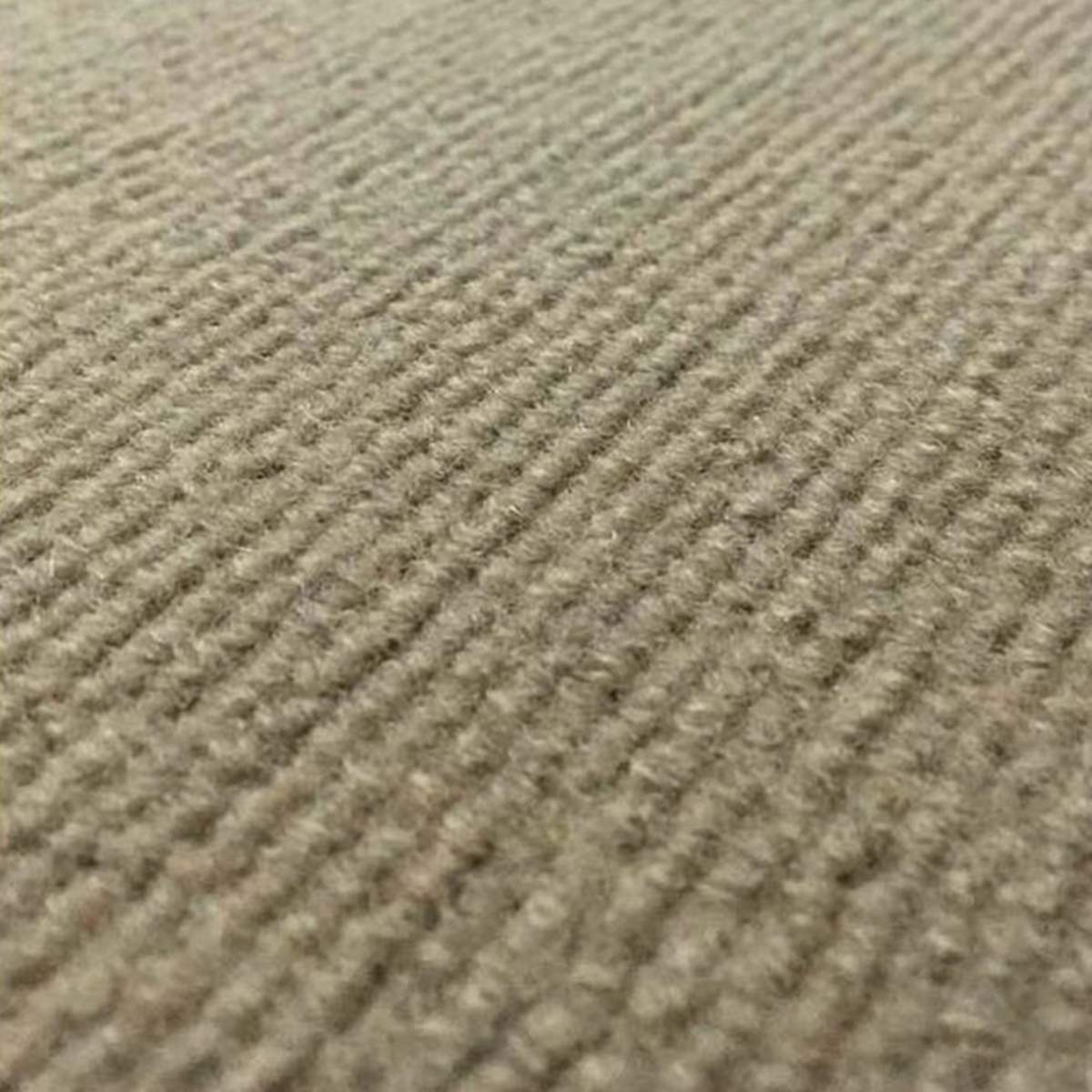 14pcs Brown/Beige Polyester Anti-slip Stair Pads Carpet Mat Self-adhesive Sticky Bottom Repeatedly-use Safety Pads Mat for Home