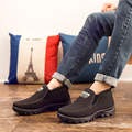 New Men Winter Boots Snow Boots Warm Fur&Plush  Ankle Boots For Men Casual Shoes