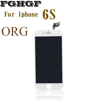 ORG FGHGF Mobile Phone LCD Screen 2PCS Lot For Iphone 6S Display 4 7 Inch With