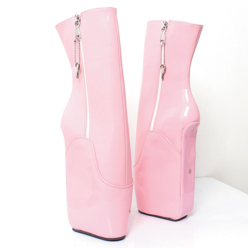 Altos Botines Reina Feminina Zapatos Botas Black Cortas Plataforma Rosa  Ballet Bombas Súper Color Sexy Cuña Mujer ... 21ae104b7020