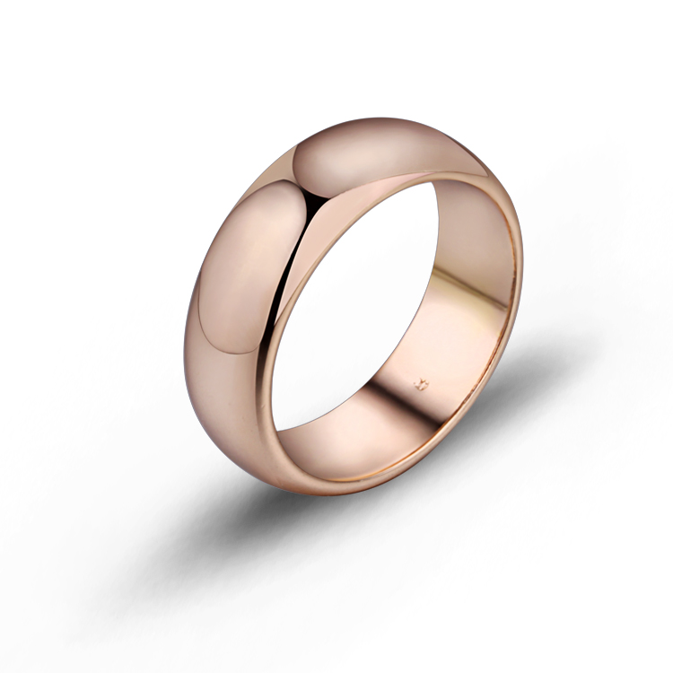 Gold-Color Wedding Rings Mens Women Enga